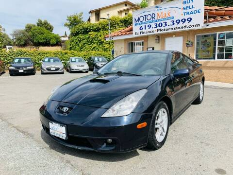 2001 Toyota Celica for sale at MotorMax in Lemon Grove CA