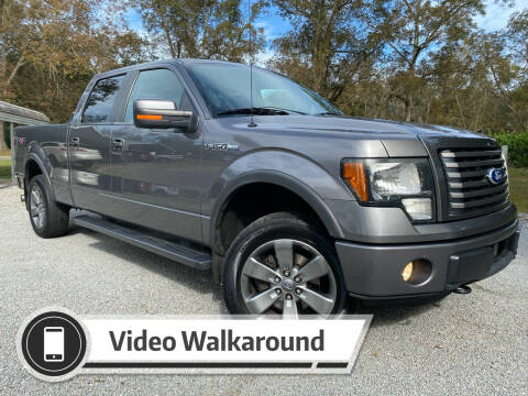 2011 Ford F-150 for sale at Byron Thomas Auto Sales, Inc. in Scotland Neck NC