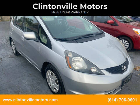2012 Honda Fit for sale at Clintonville Motors in Columbus OH