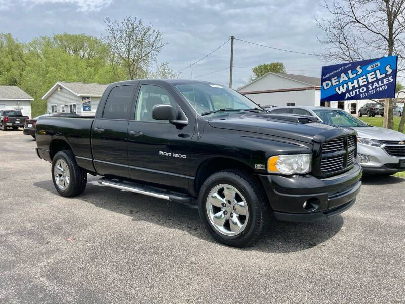 2003 Dodge Ram Pickup 1500 for sale at Deals on Wheels Auto Sales in Scottville MI
