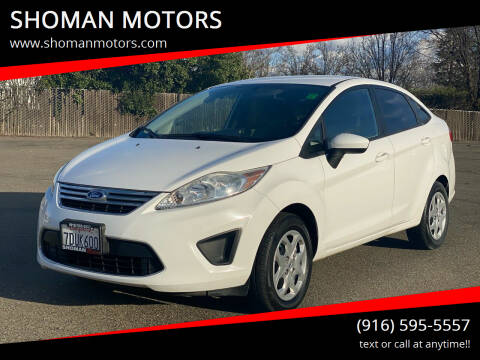 2012 Ford Fiesta for sale at SHOMAN AUTO GROUP in Davis CA