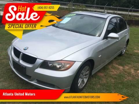 2007 BMW 3 Series for sale at Atlanta United Motors in Buford GA