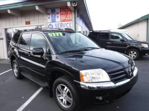 2005 Mitsubishi Endeavor for sale at 777 Auto Sales and Service in Tacoma WA