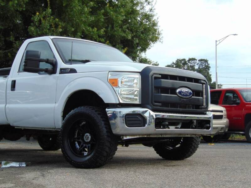 2013 Ford F-250 Super Duty for sale at Ratchet Motorsports in Gibsonton FL