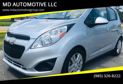 2015 Chevrolet Spark for sale at MD AUTOMOTIVE LLC in Slidell LA