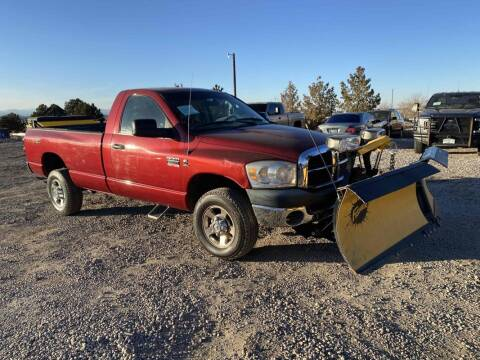 2007 Dodge Ram Pickup 2500 for sale at BERKENKOTTER MOTORS in Brighton CO