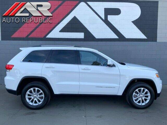 2016 Jeep Grand Cherokee for sale at Auto Republic Fullerton in Fullerton CA