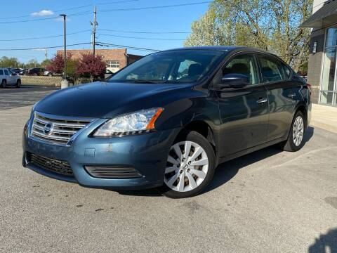 2013 Nissan Sentra for sale at Samuel's Auto Sales in Indianapolis IN