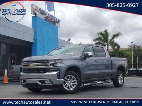 2019 Chevrolet Silverado 1500 for sale at Tech Auto Sales in Hialeah FL