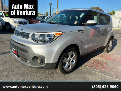 2017 Kia Soul for sale at Auto Max of Ventura in Ventura CA