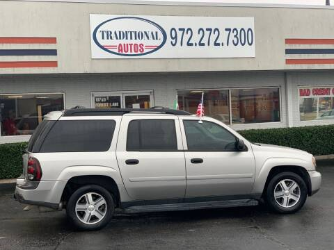 2006 Chevrolet TrailBlazer EXT for sale at Traditional Autos in Dallas TX