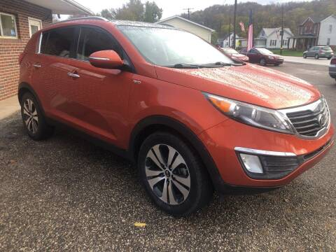 2013 Kia Sportage for sale at MYERS PRE OWNED AUTOS & POWERSPORTS in Paden City WV