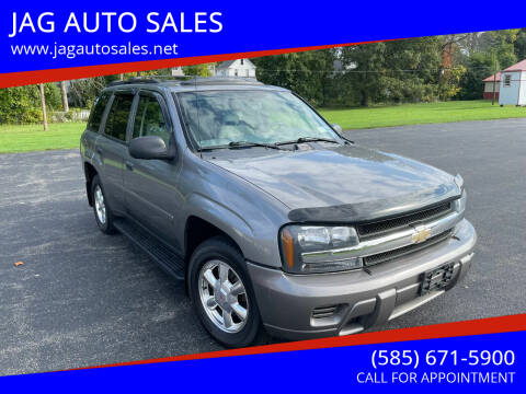 2008 Chevrolet TrailBlazer for sale at JAG AUTO in Webster NY