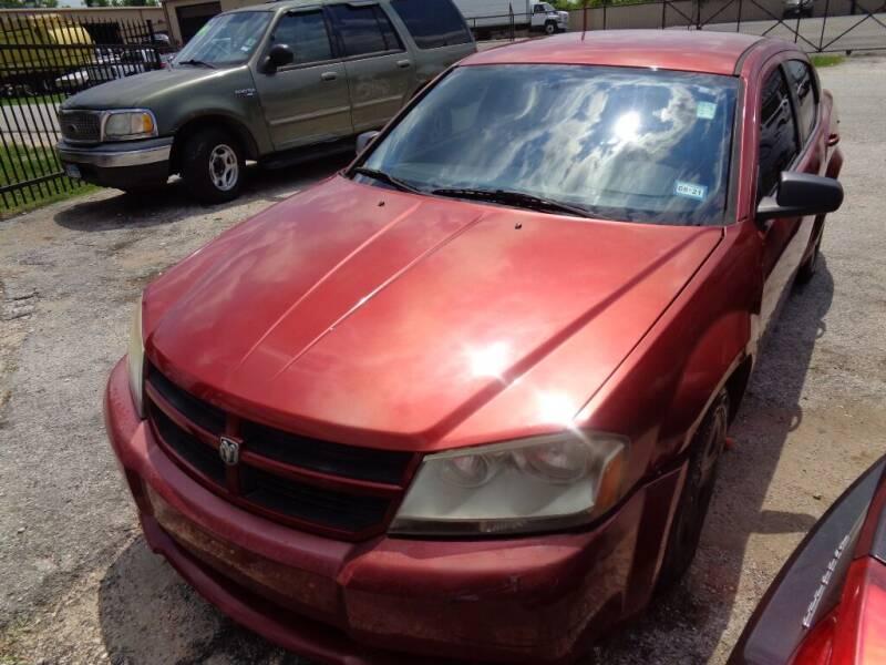2010 Dodge Avenger for sale at SCOTT HARRISON MOTOR CO in Houston TX