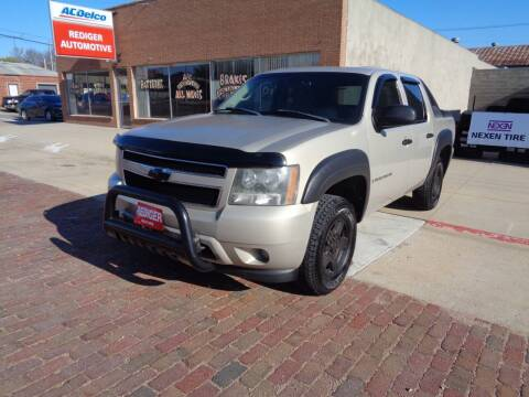 2007 Chevrolet Avalanche for sale at Rediger Automotive in Milford NE