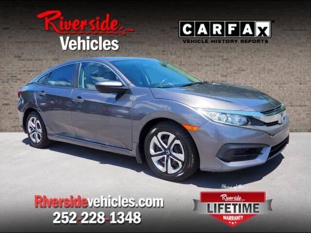 2016 Honda Civic for sale at Riverside Mitsubishi(New Bern Auto Mart) in New Bern NC