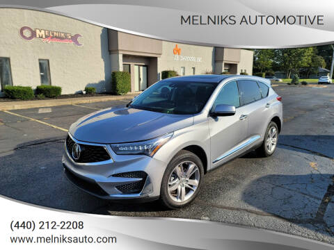 2020 Acura RDX for sale at Melniks Automotive in Berea OH
