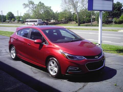 2017 Chevrolet Cruze for sale at STAPLEFORD'S SALES & SERVICE in Saint Georges DE