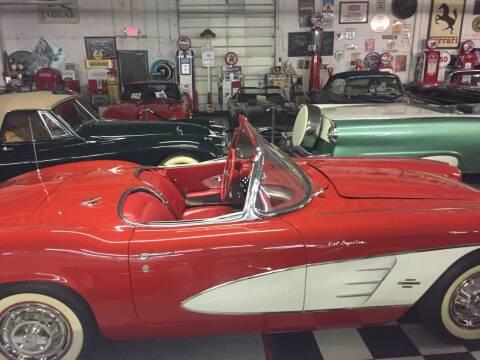 1961 Chevrolet Corvette for sale at Berliner Classic Motorcars Inc in Dania Beach FL