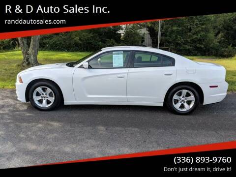 2012 Dodge Charger for sale at R & D Auto Sales Inc. in Lexington NC