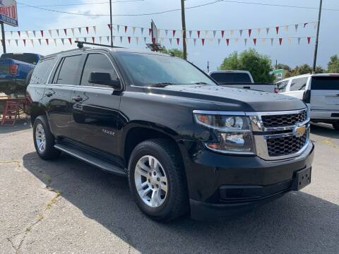 2015 Chevrolet Tahoe for sale at Lion's Auto INC in Denver CO
