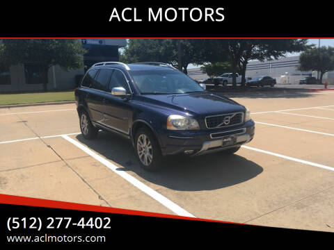 2013 Volvo XC90 for sale at ACL MOTORS in Austin TX