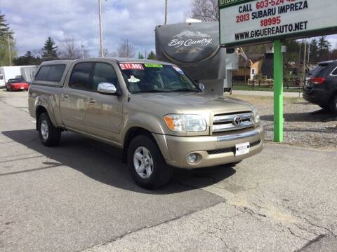 2005 Toyota Tundra for sale at Giguere Auto Wholesalers in Tilton NH
