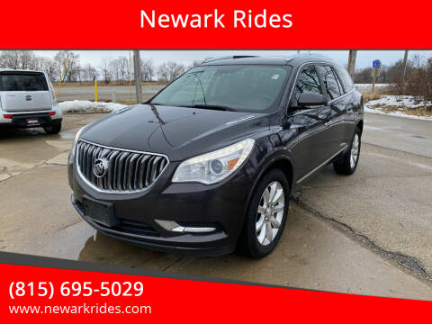 2014 Buick Enclave for sale at Newark Rides in Newark IL