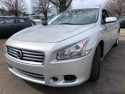 2014 Nissan Maxima for sale at Atlantic Auto Sales in Garner NC