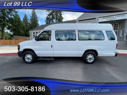 2008 Ford E-Series Cargo for sale at LOT 99 LLC in Milwaukie OR