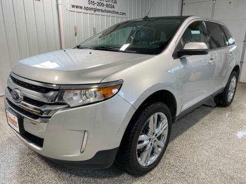 2014 Ford Edge for sale at SPANGLER AUTOMOTIVE WC LLC in Webster City IA