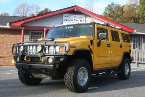 2003 HUMMER H2 for sale at Peach State Motors Inc in Acworth GA
