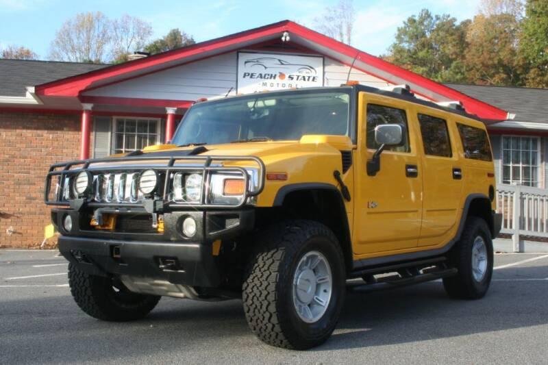 2003 HUMMER H2 for sale at Peach State Motors Inc in Acworth GA