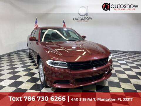 2021 Dodge Charger for sale at AUTOSHOW SALES & SERVICE in Plantation FL