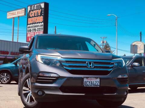 2018 Honda Pilot for sale at City Motors in Hayward CA