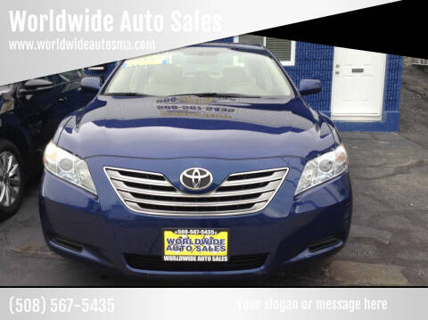 2007 Toyota Camry Hybrid for sale at Worldwide Auto Sales in Fall River MA