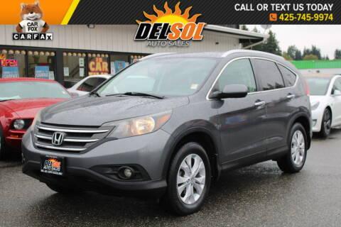 2012 Honda CR-V for sale at Del Sol Auto Sales in Everett WA