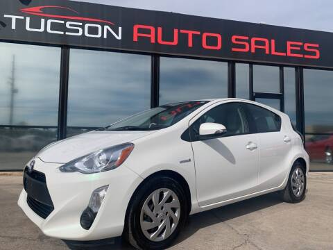 2015 Toyota Prius c for sale at Tucson Auto Sales in Tucson AZ