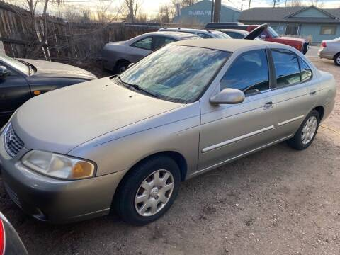2002 Nissan Sentra for sale at Fast Vintage in Wheat Ridge CO