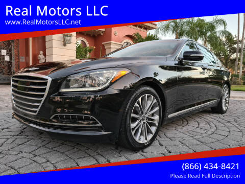2015 Hyundai Genesis for sale at Real Motors LLC in Clearwater FL