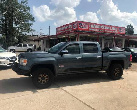 2014 GMC Sierra 1500 for sale at LA Auto Sales in Monroe LA