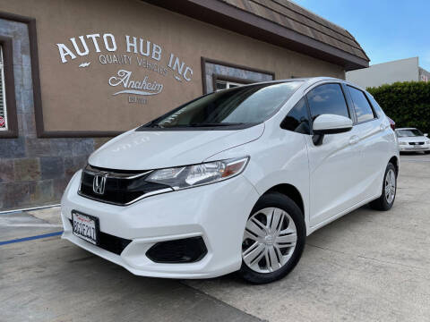 2019 Honda Fit for sale at Auto Hub, Inc. in Anaheim CA