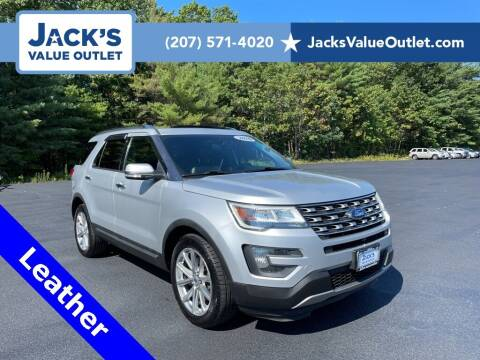 2016 Ford Explorer for sale at Jack's Value Outlet in Saco ME