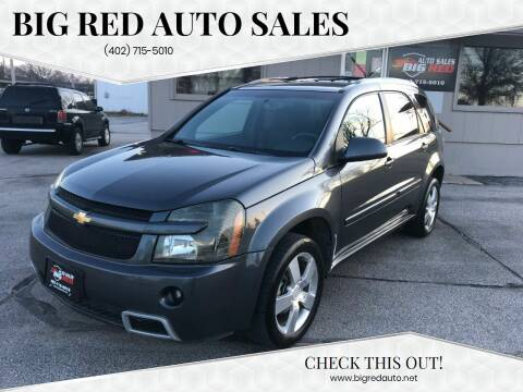 2009 Chevrolet Equinox for sale at Big Red Auto Sales in Papillion NE