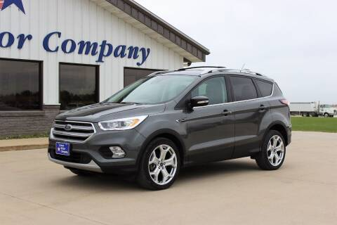 2017 Ford Escape for sale at Cresco Motor Company in Cresco IA