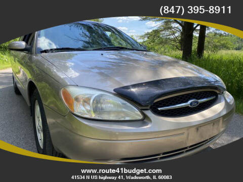 2003 Ford Taurus for sale at Route 41 Budget Auto in Wadsworth IL