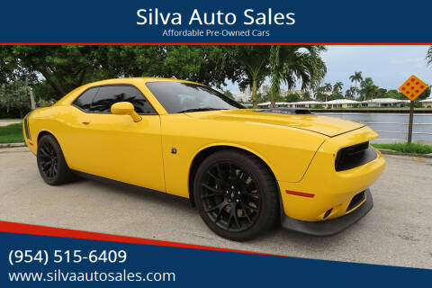 2018 Dodge Challenger for sale at Silva Auto Sales in Pompano Beach FL