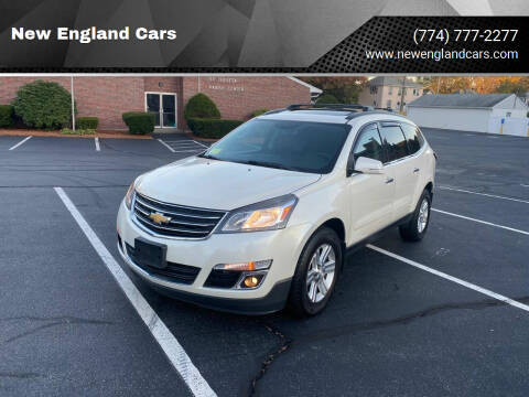 2014 Chevrolet Traverse for sale at New England Cars in Attleboro MA