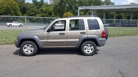 2003 Jeep Liberty for sale at MIKE B CARS LTD in Hammonton NJ