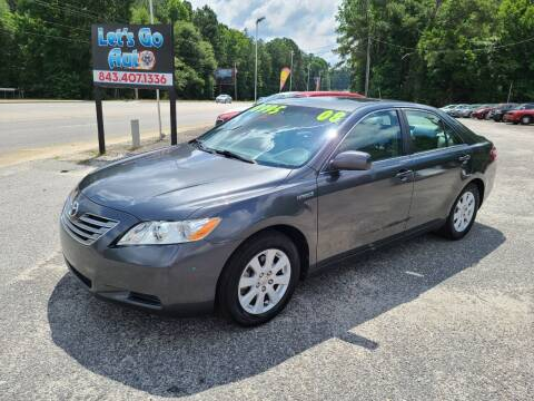 2008 Toyota Camry Hybrid for sale at Let's Go Auto in Florence SC